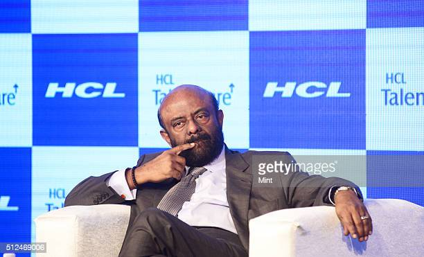 Shiv Nadar - Founder and Chairman of HCL at launch of of TalentCare on May 14, 2015 in New Delhi, India.