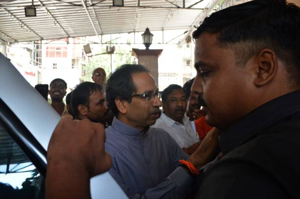 IND: Shiv Sena Chief Uddhav Thackeray Holds A Meeting With Party Leader