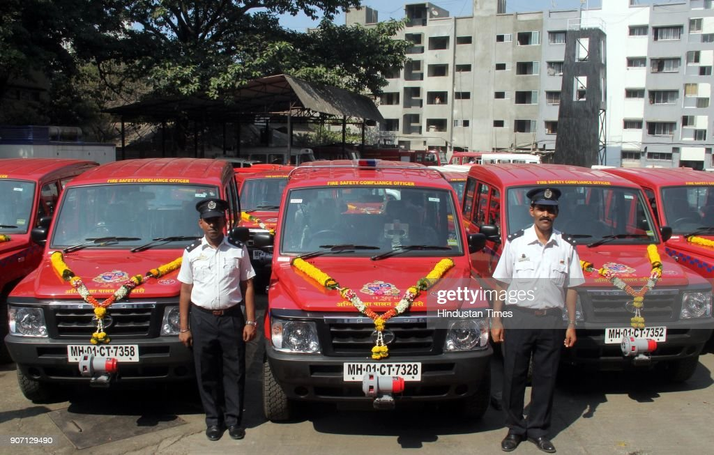 Shiv Sena Chief Uddhav Thackeray Inaugurates New Vehicles For Fire Brigade
