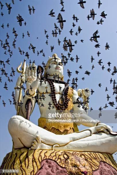 shiva - maha shivaratri stock photos and pictures