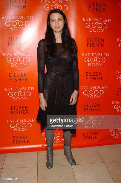 Shiva Rosa McDermott during Eve Ensler's The Good Body Opening Night After Party at Gustavinos in New York City New York United States