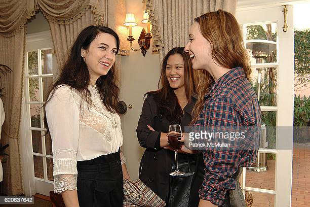 Shiva Rose Alisa Kim and Jenni Kayne attend RODIAL Skincare and Hosts Jenni Kayne and Hilary Tisch Welcome Founder Maria Hatzistefanis to Los Angeles...