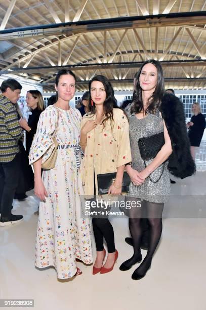 Shiva Rose and Bettina Korek attend Mr Chow 50 Years on February 16 2018 in Vernon California