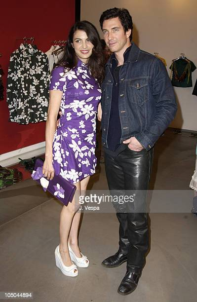 8fa5a5e1cde9 Shiva Rose and Dylan McDermot during Miu Miu Party for IFP Los Angeles  Filmmaker Labs at