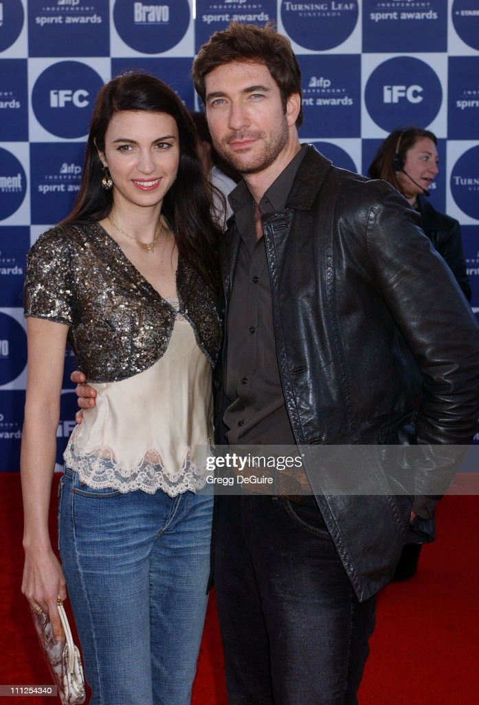 Shiva Rose and Dylan McDermott during The 19th Annual IFP Independent Spirit Awards - Arrivals at Santa Monica Pier in Santa Monica, California, United States.