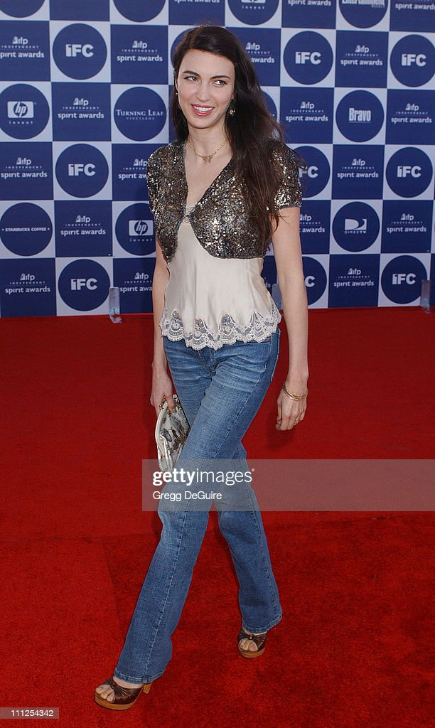 Shiva Rose during The 19th Annual IFP Independent Spirit Awards - Arrivals at Santa Monica Pier in Santa Monica, California, United States.