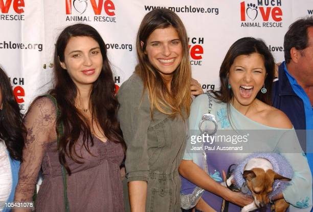 """Shiva Rose, Lake Bell and Kelly Hu during Much Love Animal Rescue """"Shop 'Til You Drool"""" Benefit at 5th and Sunset Studios Los Angeles in Los Angeles,..."""