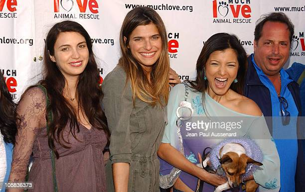 Shiva Rose Lake Bell Kelly Hu and Jon Lovitz during Much Love Animal Rescue Shop 'Til You Drool Benefit at 5th and Sunset Studios Los Angeles in Los...