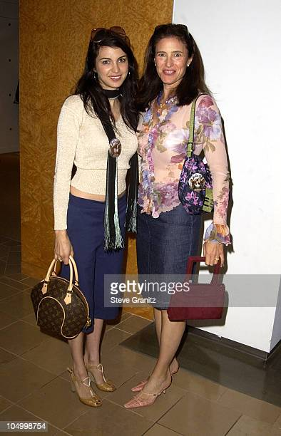 Shiva Rose Mimi Rogers during Step Up Women's Network Saks Fifth Avenue PreMother's Day Brunch at Saks Fifth Avenue in Beverly Hills California...