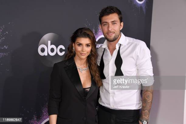 Shiva Safai and guest attend the 2019 American Music Awards at Microsoft Theater on November 24 2019 in Los Angeles California