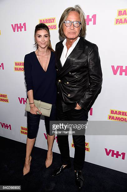 Shiva Safai and Mohamed Hadid attend VH1's Barely Famous Season 2 Party on June 14 2016 in West Hollywood California