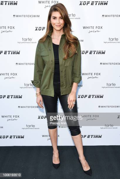 Shiva Safai attends White Fox Boutique Swimwear Launch Of 100% Salty at Catch on July 26 2018 in West Hollywood California