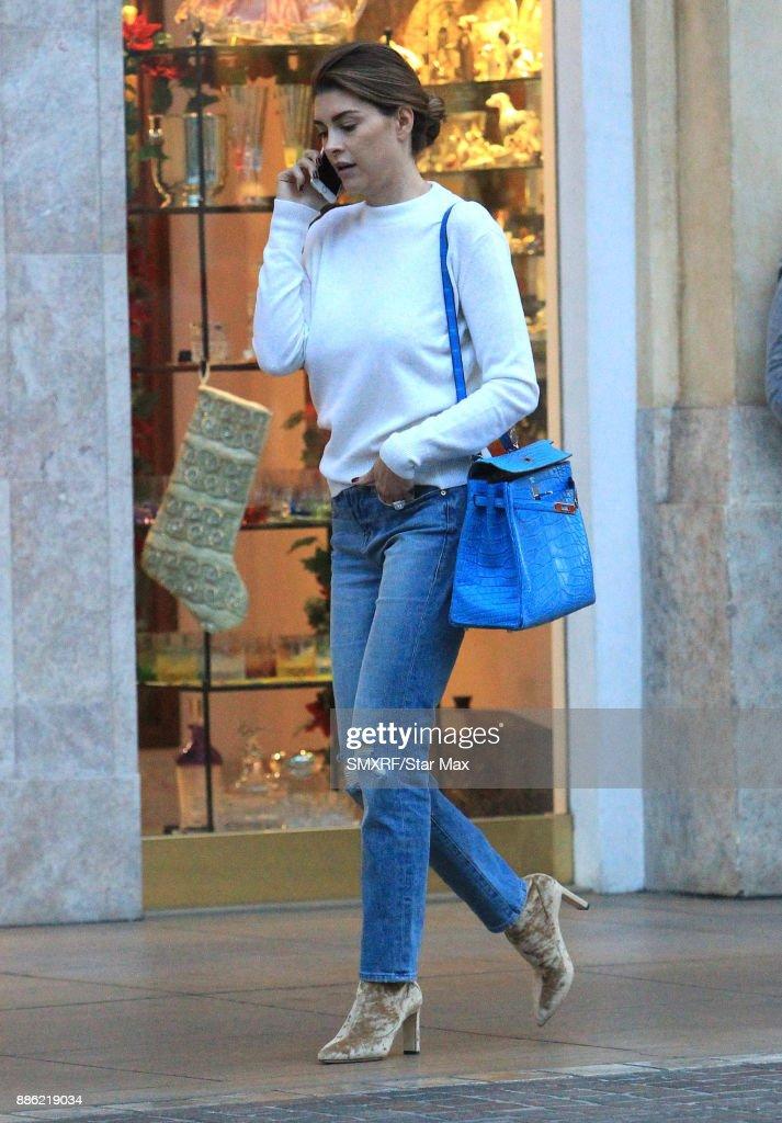 Celebrity Sightings in Los Angeles - December 4, 2017 : News Photo