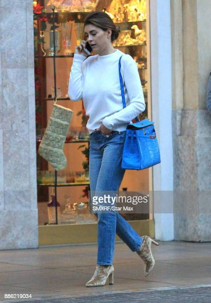 Shiva Safai is seen on December 4 2017 in Los Angeles CA