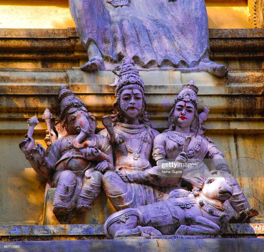 Shiva & Shakti : Stock Photo