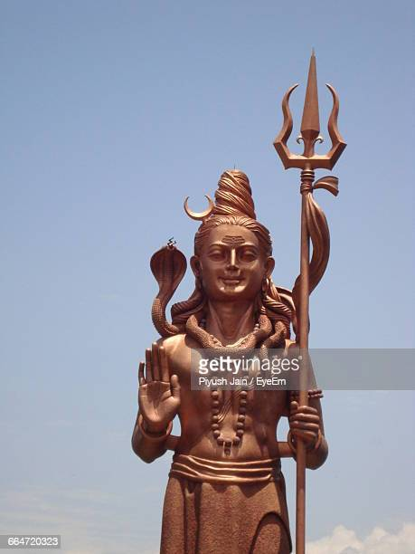Shiva Statue Against Clear Sky