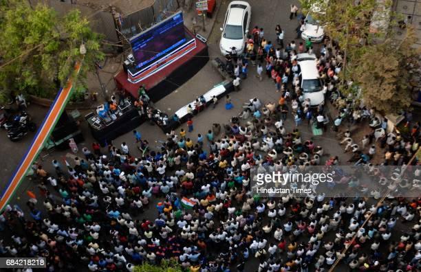 Shivaji Park on Cricket World Cup Final Day.