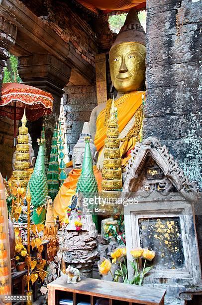 Shiva-lingam sanctuary at Wat Phu, Laos