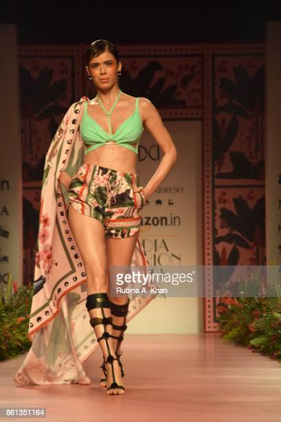 60 Top Presents India Fashion Week Spring Summer 2018 Pictures