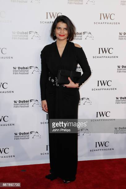 Shivani Pandya attends the sixth IWC Filmmaker Award gala dinner at the 14th Dubai International Film Festival during which Swiss luxury watch...