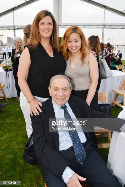 Shivaun McDonagh Norton Garfinkle and Yitian Lei attend the Franklin D Roosevelt Four Freedoms Park's gala honoring Founder Ambassador William J...