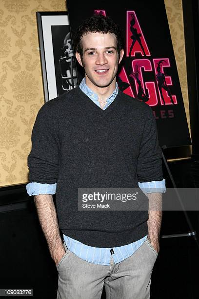 J Shively attends the after party for Kelsey Grammer Douglas Hodge Robin De Jesus Fred Applegate's final performance in La Cage Aux Folles on...
