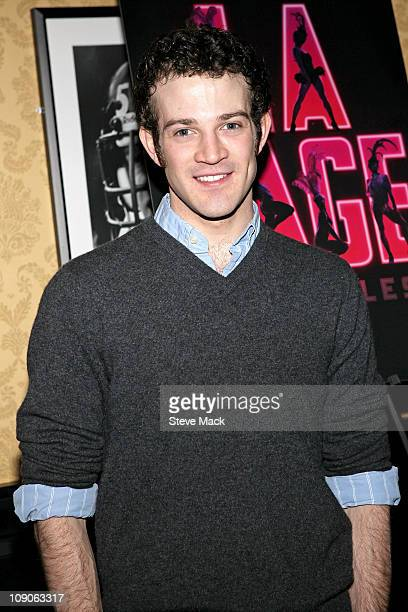 J Shively attends the after party for Kelsey Grammer Douglas Hodge Robin De Jesus Fred Applegate's final performance in 'La Cage Aux Folles' on...
