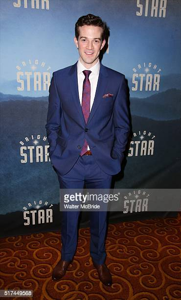 Shively attends the 'Bright Star' Opening Night after party at Gotham Hall on March 24, 2016 in New York City.