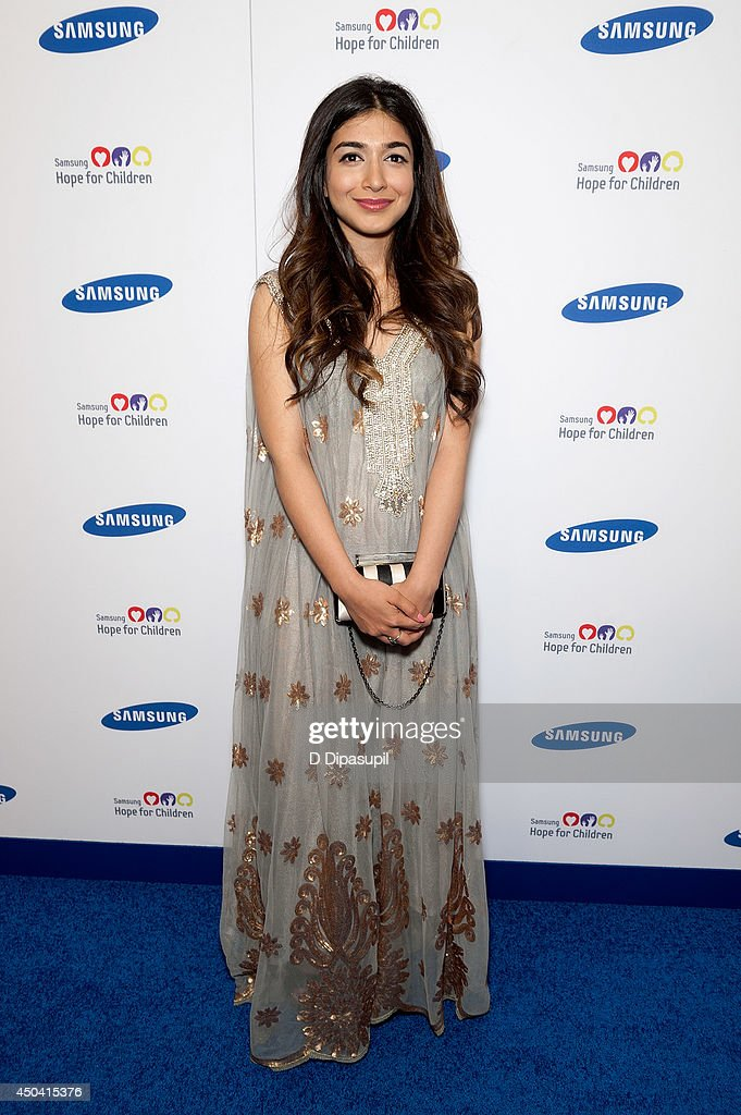 Shiza Shahid attends the 13th Annual Samsung Hope For Children Gala at Cipriani Wall Street on June 10, 2014 in New York City.