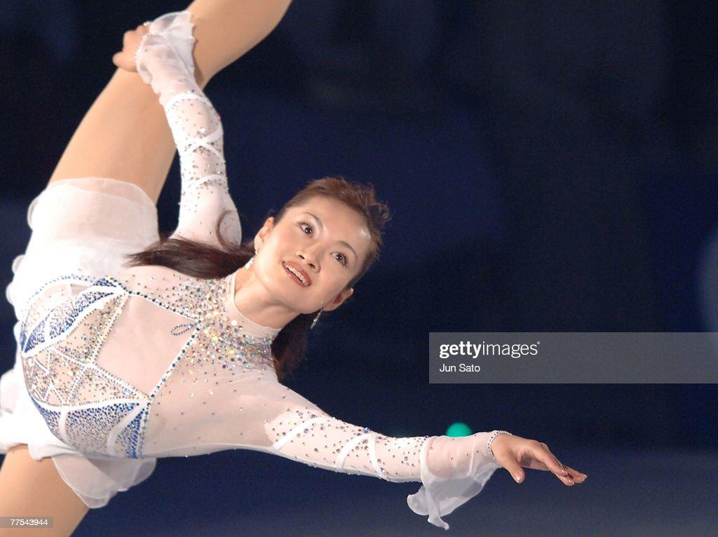 Shizuka Arakawa during Dreams on Ice 2006