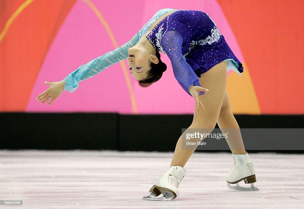 Olympics Day 13 - Ladies Figure Skating : News Photo
