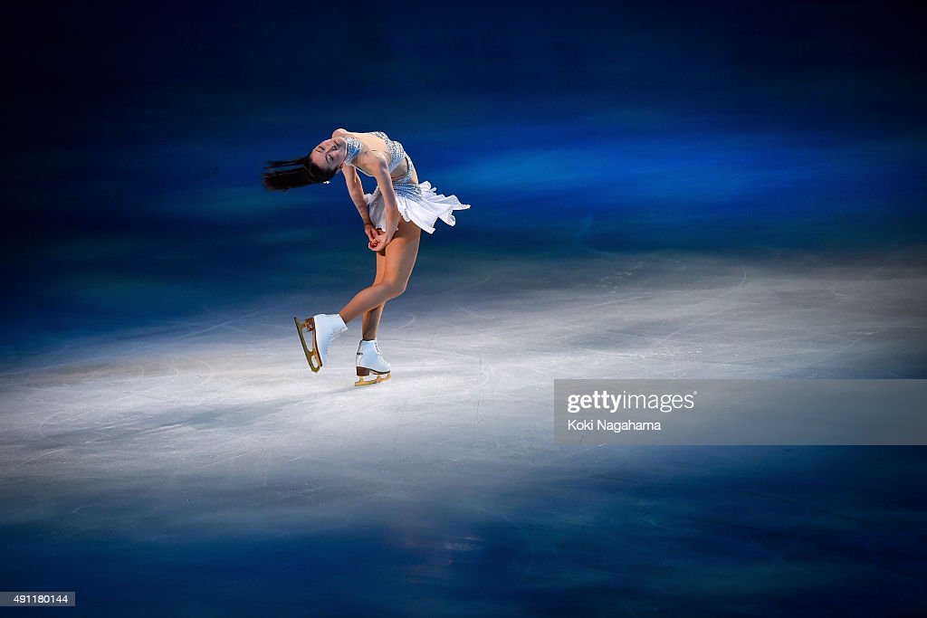 Shizuka Arakawa performs during the Japan Open 2015 Figure Skating at Saitama Super Arena on October 3, 2015 in Saitama, Japan.