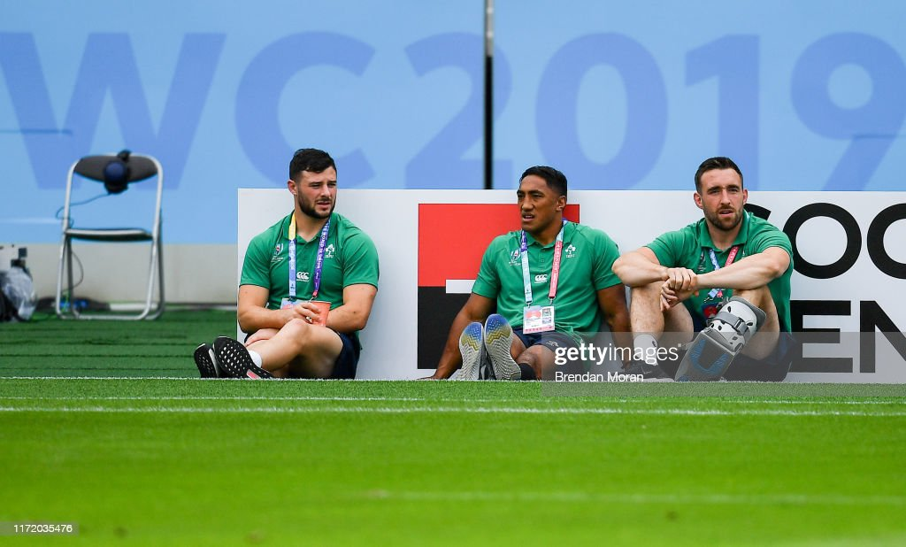 Japan v Ireland - 2019 Rugby World Cup Pool A : Foto jornalística