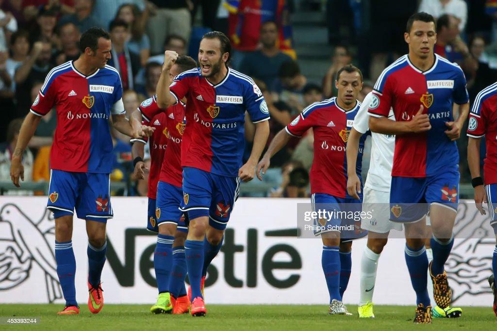 FC Basel v FC Zurich - Raiffeisen Super League : News Photo