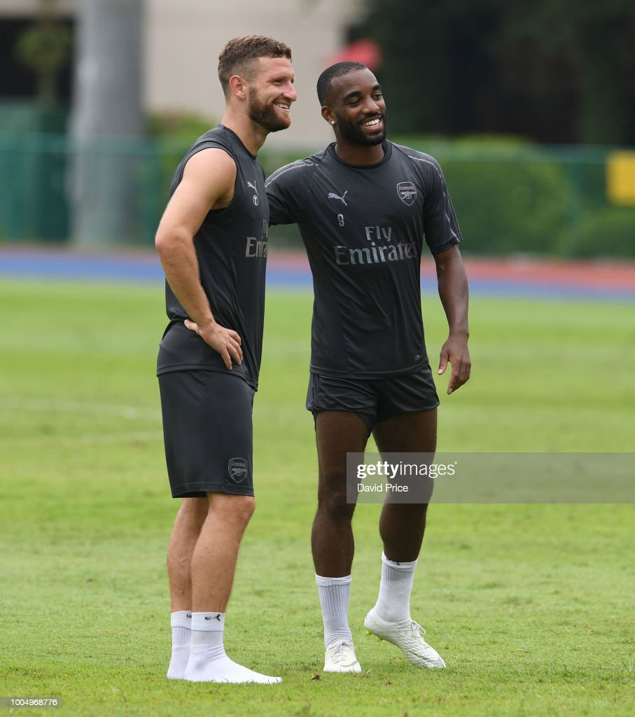 Arsenal Pre-Season Training Session : News Photo