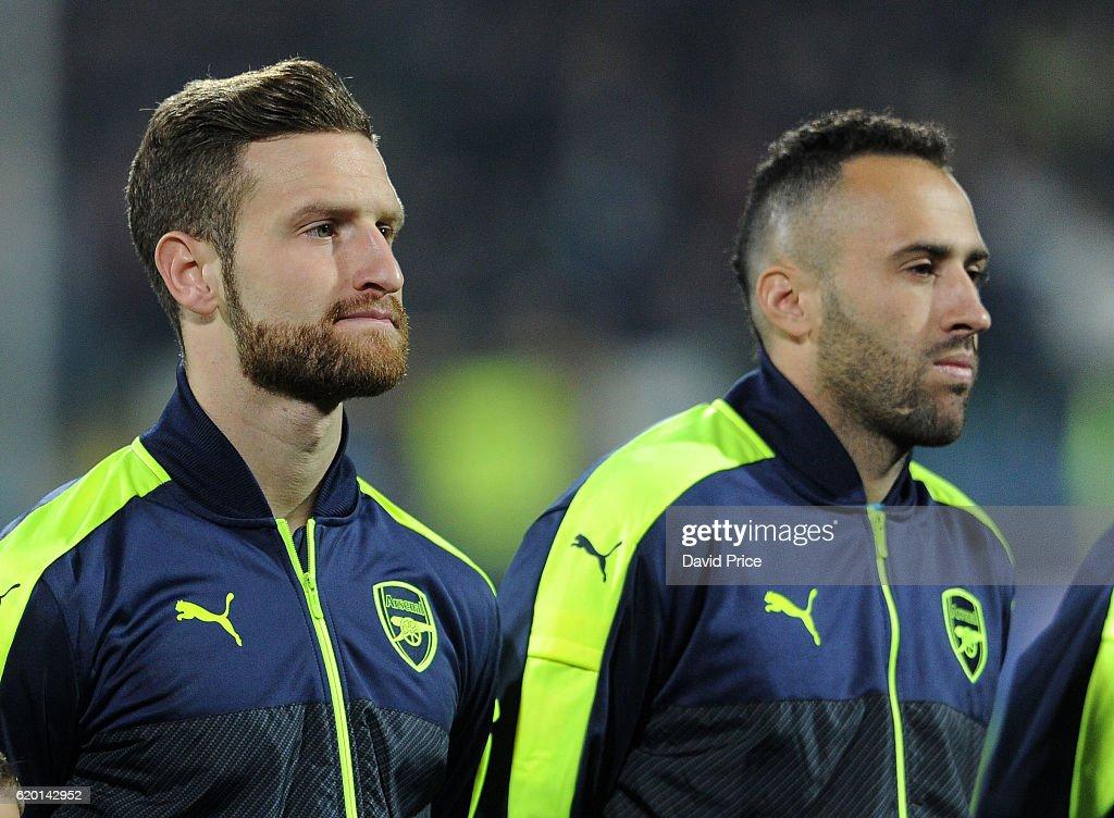 PFC Ludogorets Razgrad v Arsenal FC - UEFA Champions League : News Photo