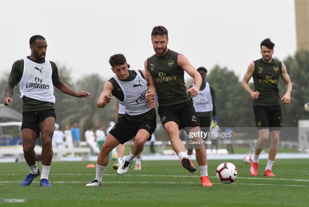 ARE: Arsenal Training Session