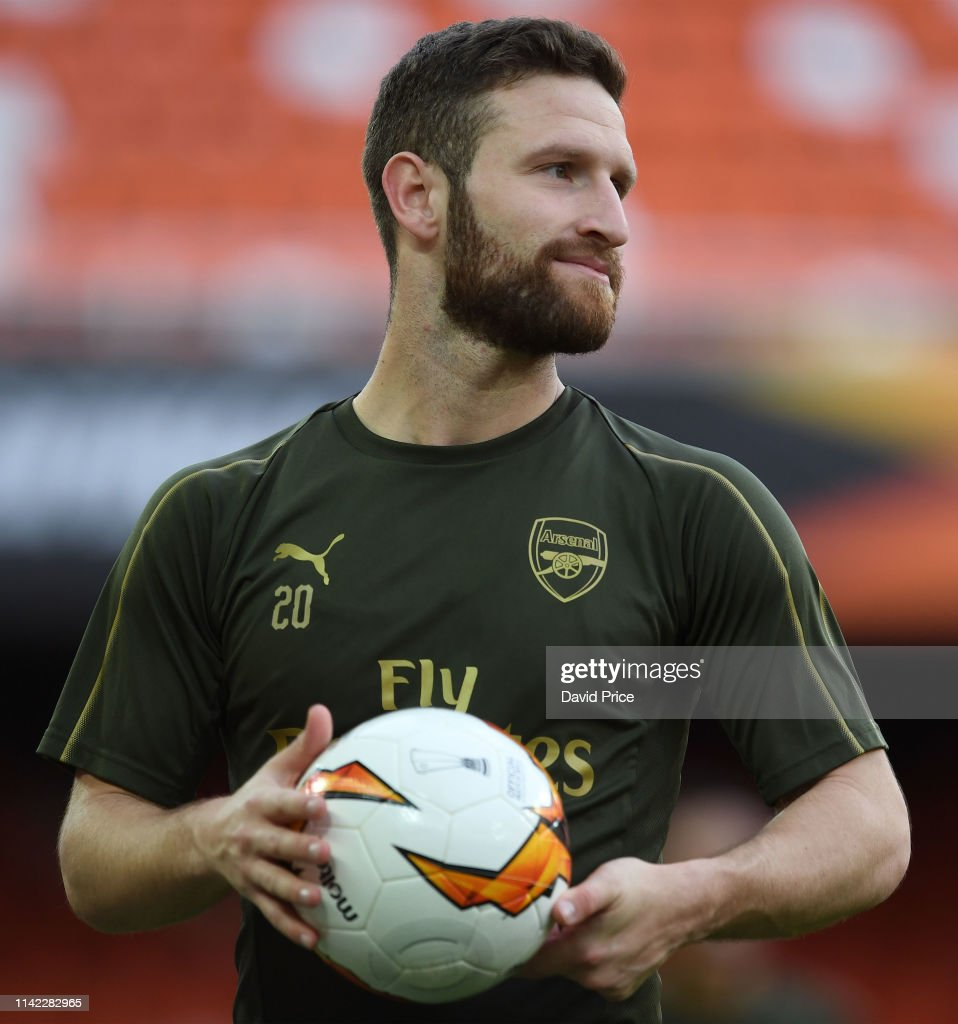 Arsenal Training and Press Conference : ニュース写真
