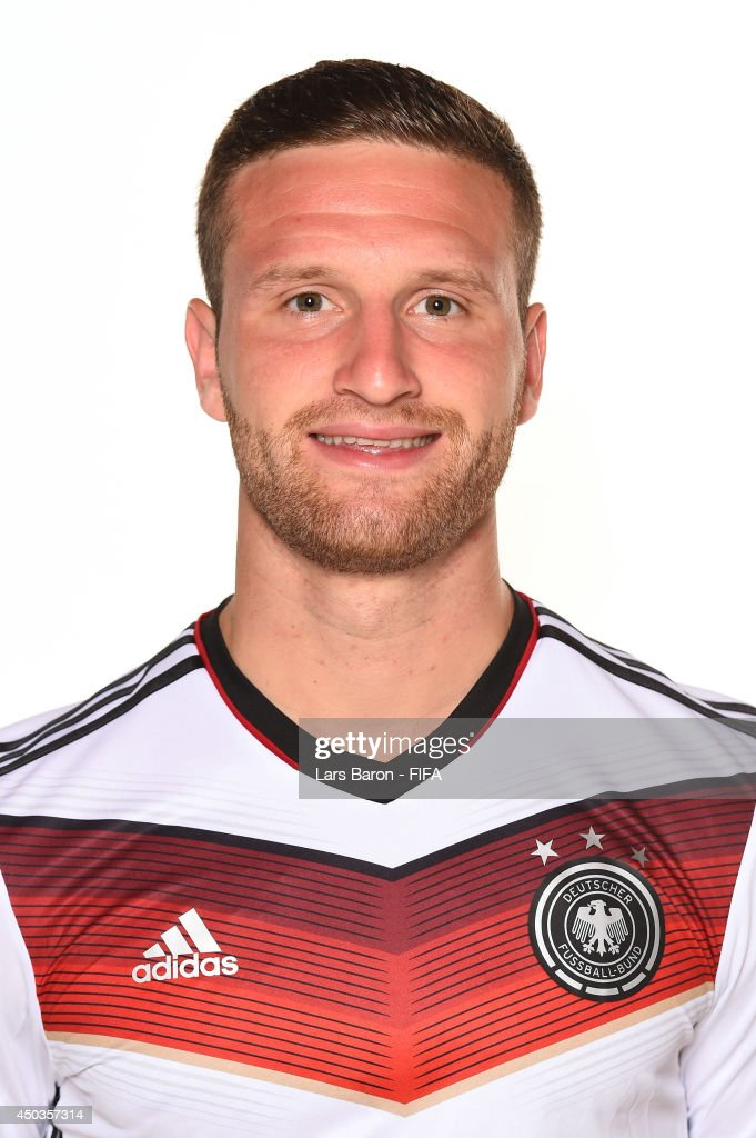Shkodran Mustafi of Germany poses during the official FIFA World Cup 2014 portrait session on June 8, 2014 in Salvador, Brazil.