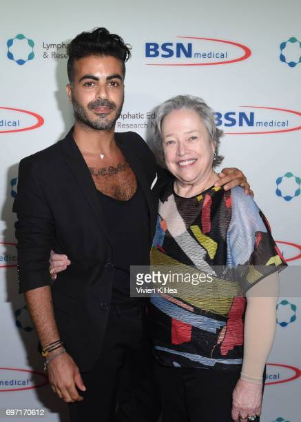Shlomi Hillel Krim and Kathy Bates attend Academy Award Winner and LERN Spokesperson Kathy Bates Hosts Reception On The Eve Of The Third Annual...