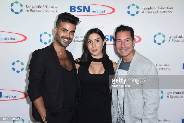 Shlomi Hillel Krim Founder/CEO of Stacey Ruiz Events Stacey Ruiz and President/CEO of The Krim Group Todd Krim attend Academy Award Winner and LERN...