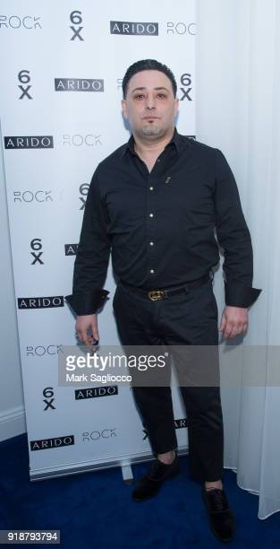 Shlomi Maman attends ARIDO Jewelry Presenting ROCK 6X during New York Fashion Week on February 15 2018 in New York City