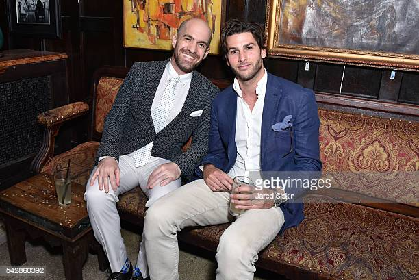 Shlomi Rabi and Scott Rudin attend AFIM Presents Celebrate Summer: An Art Acquisitions Fundraiser at The Jane Hotel on June 23, 2016 in New York City.