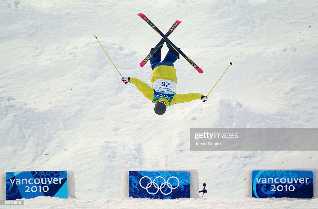 Sho Endo of Japan competes during the Freestyle Skiing Men's Moguls on day 3 of the 2010 Winter Olympics at Cypress Freestyle Skiing Stadium on February 14, 2010 in Vancouver, Canada.