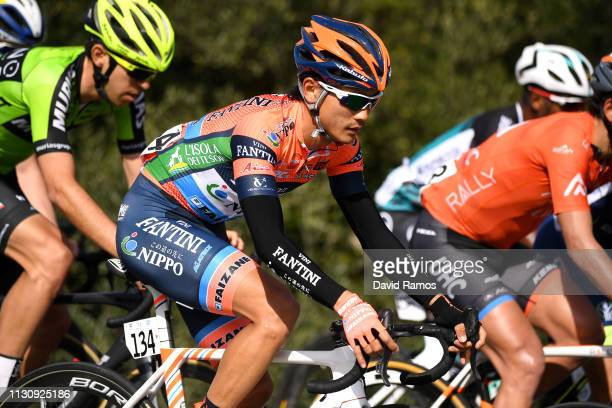 Sho Hatsuyama of Japan and Team Nippo Fantini Faizane / during the 65th Ruta del Sol 2019, Stage 1 a 170,5km stage from Sanlúcar de Barrameda to...