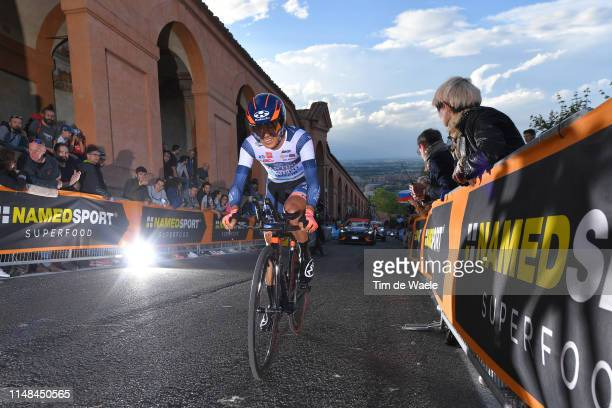 Sho Hatsuyama of Japan and Team Nippo Vini Fantini - Faizane / during the 102nd Giro d'Italia 2019, Stage 1 a 8km Individual Time Trial from Bologna...