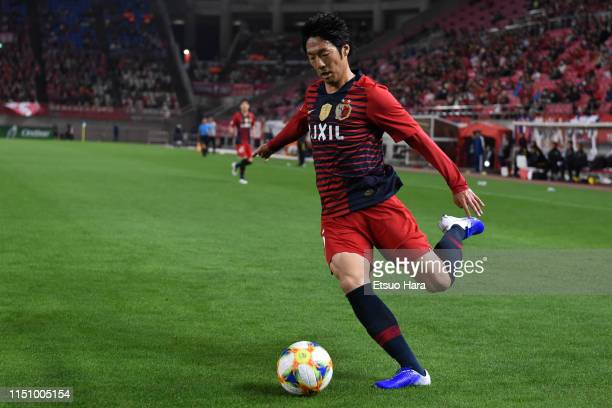 Sho Ito of Kashima Antlers in action during the AFC Champions League Group E match between Kashima Antlers and Shandong Luneng at Kashima Soccer...