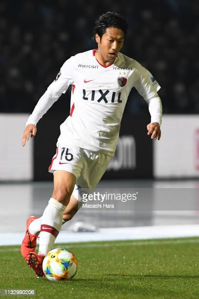 Sho Ito of Kashima Antlers in action during the JLeague J1 match between Kawasaki Frontale and Kashima Antlers at Todoroki Stadium on March 01 2019...