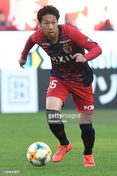 Sho Ito of Kashima Antlers in action during the JLeague J1 match between Kashima Antlers and Shonan Bellmare at Kashima Soccer Stadium on March 09...
