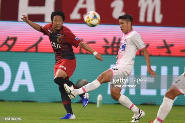 Sho Ito of Kashima Antlers in action during the JLeague J1 match between Kashima Antlers and Sagan Tosu at Kashima Soccer Stadium on July 20 2019 in...